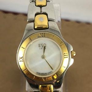 Movado Accessories - Vintage Ladies Rare ESQ Movado Swiss 2 Tone Watch